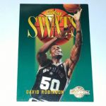 1994-95 SkyBox Premium San Antonio Spurs Basketball Card #335 David Robinson